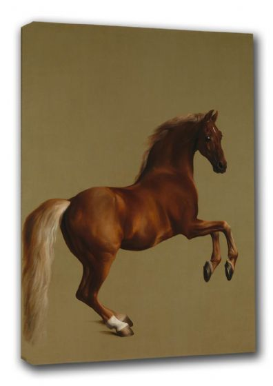 Stubbs, George: Whistlejacket. Racehorse/Equestrian Fine Art Sports Canvas. Sizes: A3/A2/A1 (00256)